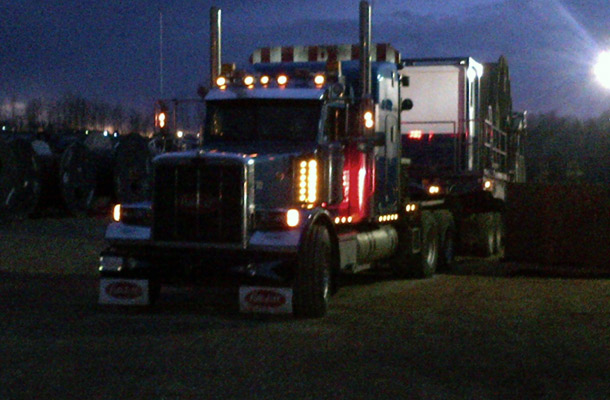 truck night close